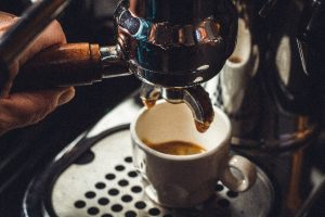 Kaffee richtig Tampern: Extraktion