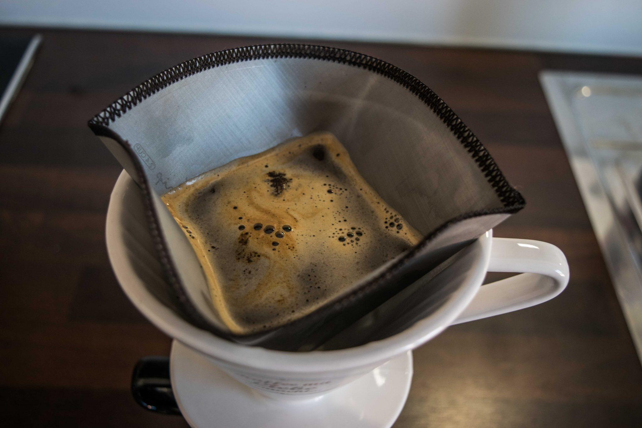 Dauerkaffeefilter für Filterkaffee Benutzung