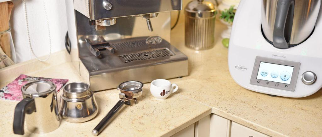 Lassen sich mit dem Thermomix Kaffeemühlen mahlen?