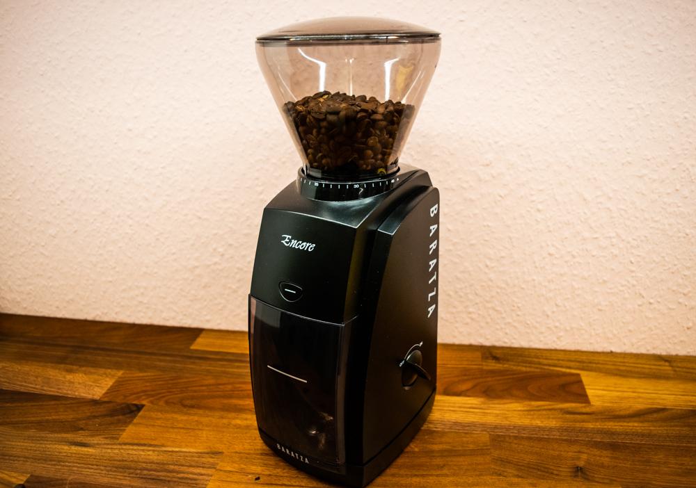 Baratza Encore Kaffeemühle seitlich